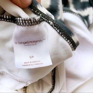 Liz Lange for Target Swim - Liz Lange Chevron Maternity Suit